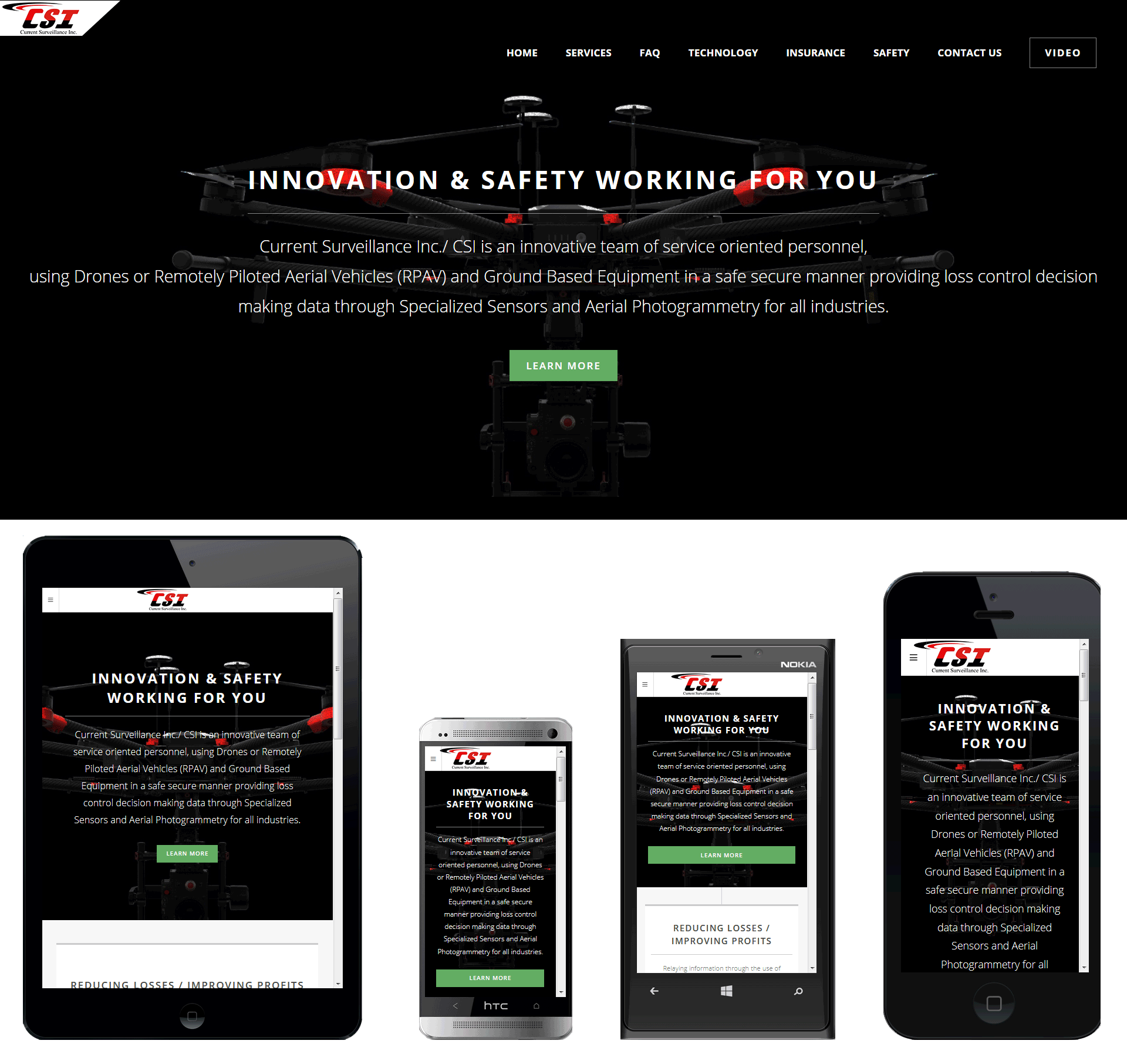 Photon Motion Inc. Website Design and Development